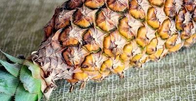 Ananas brule graisse