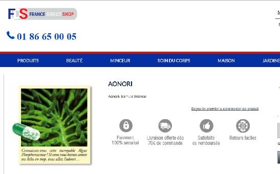 Aonori Slim : Avis & Analyse - Bruleurs de Graisse