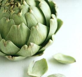 Les feuilles d'artichaut dans la composition Anaca 3