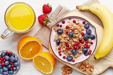 petit déjeuner équilibré et sain