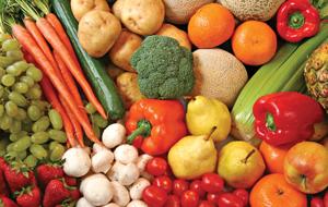 Les alimeznts sains sont à privilégier dans un menu IG bas