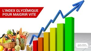 L'indice glycémique ou IG détermine le taux de glucide d'un aliment pour un menu IG bas