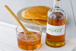 le sirop d'agave, idéal pour un menu IG bas