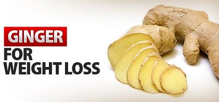 Gingembre pour perdre du poids