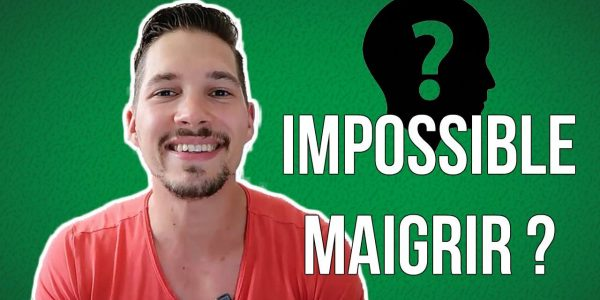 Je N'arrive PAS à Maigrir : 4 Raisons ? (Vidéo)
